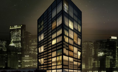 Hangzhou Jinshahu Office Tower David Stancu Architecture