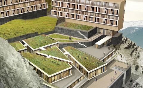 damingshan hotel zhejiang david stancu architecture