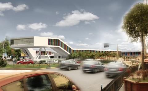 Market Study Diploma Bucharest Arch. David Stancu